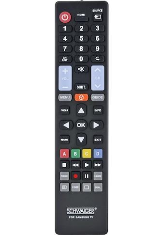 Schwaiger Ersatzfernbedienung für alle Samsung TV-Geräte kaufen