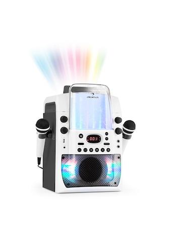 Auna Kara Liquida BT Karaoke-Anlag Mikrofone Lichtshow Wasserfontäne kaufen