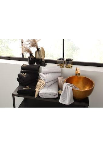 Leonique Handtuch Set »James«, mit eingesticktem Logo kaufen
