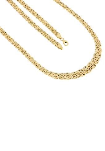 Firetti Goldkette »Königskettengliederung, 6,5 mm  -  10,5 mm breit im Verlauf, glänzend« kaufen