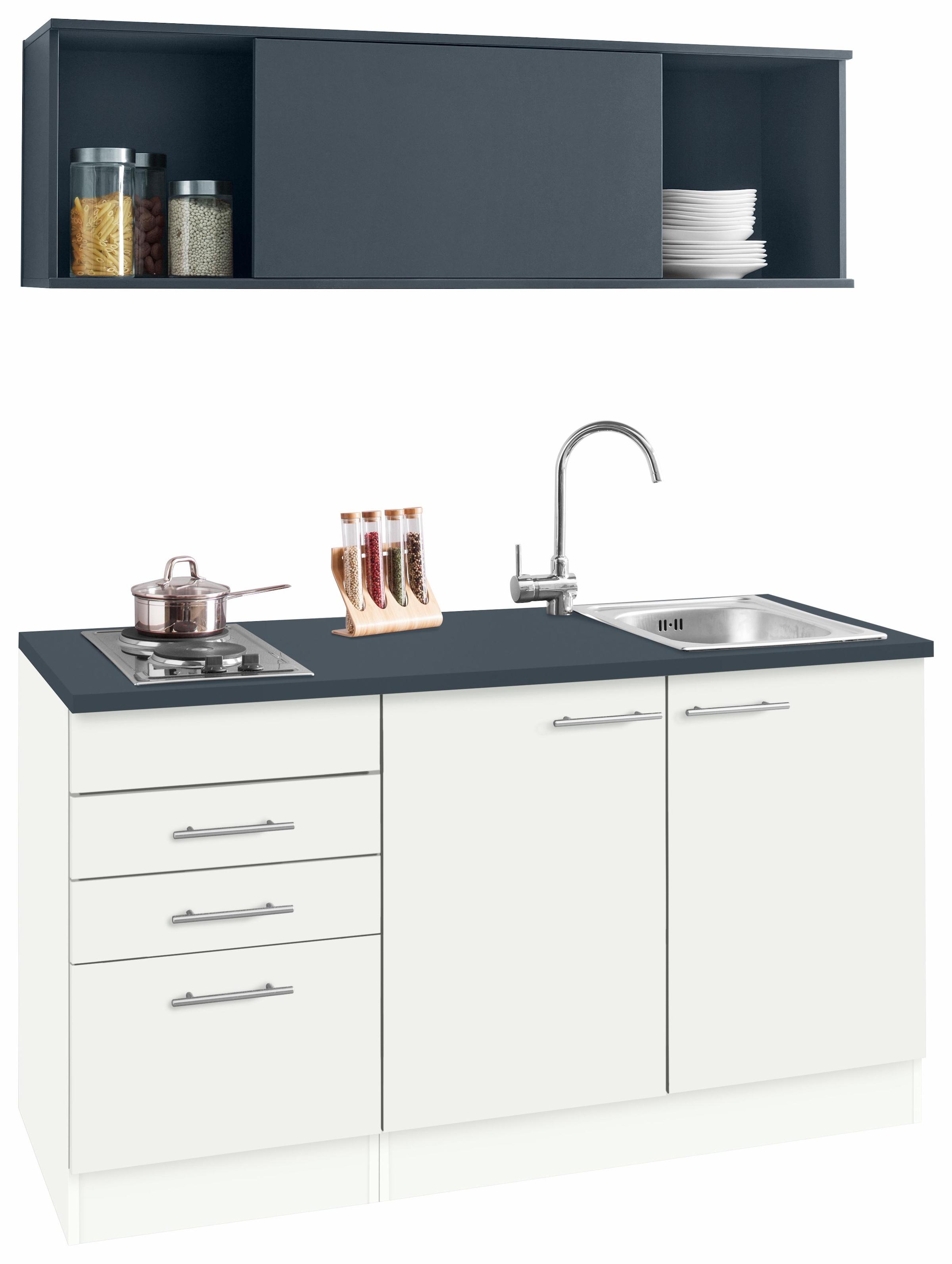 Miniküche Ohne Kühlschrank : Küchenzeilen ohne geräte online bestellen quelle