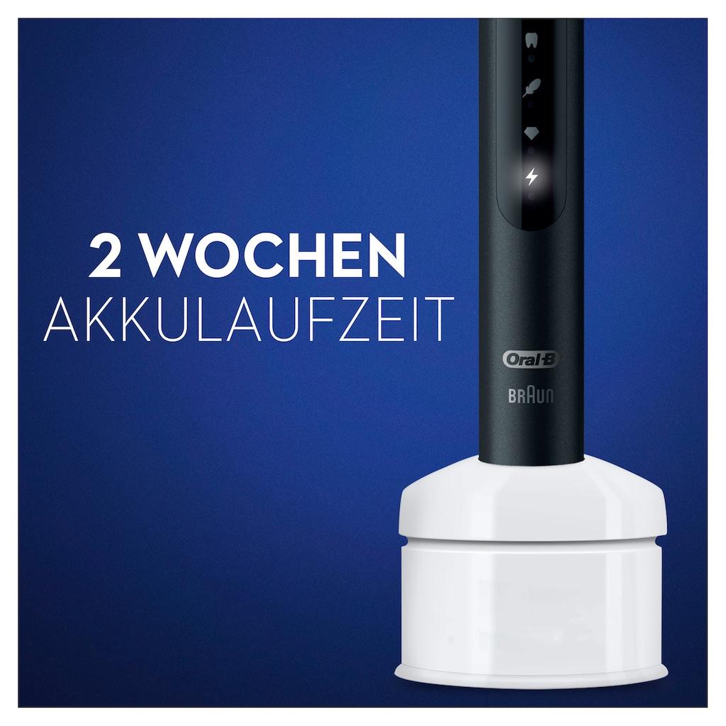 Oral B Schallzahnbürste »Pulsonic Slim Luxe 4500«, 2 St. Aufsteckbürsten