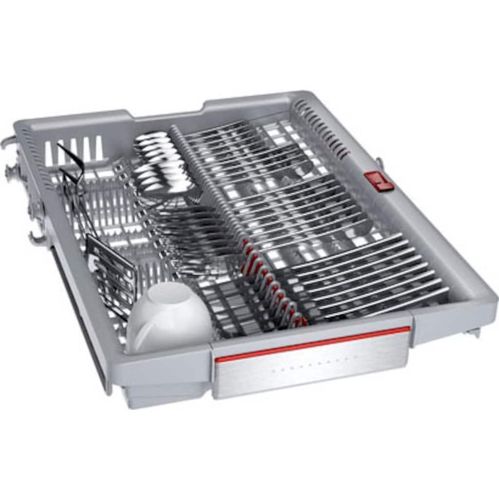 BOSCH vollintegrierbarer Geschirrspüler »SPV6ZMX23E«, Serie 6, SPV6ZMX23E, 10 Maßgedecke