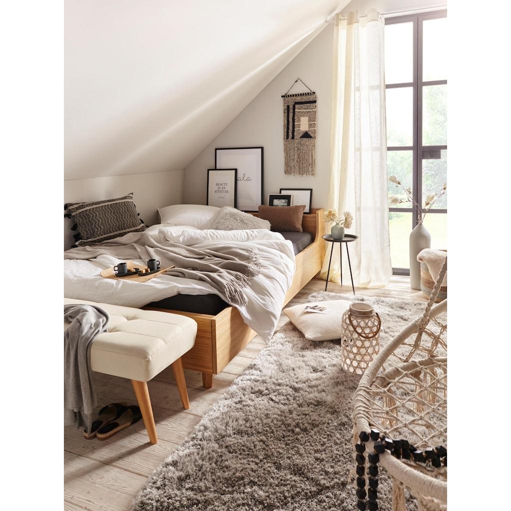 Gardine, »Narva«, Guido Maria Kretschmer Home&Living, Ösen 2 Stück