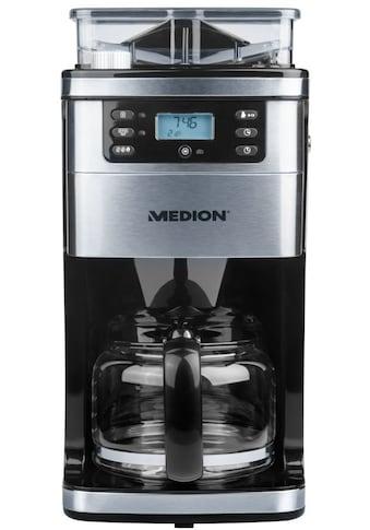 Medion® Kaffeemaschine mit Mahlwerk MD 15486  -  50060877 kaufen