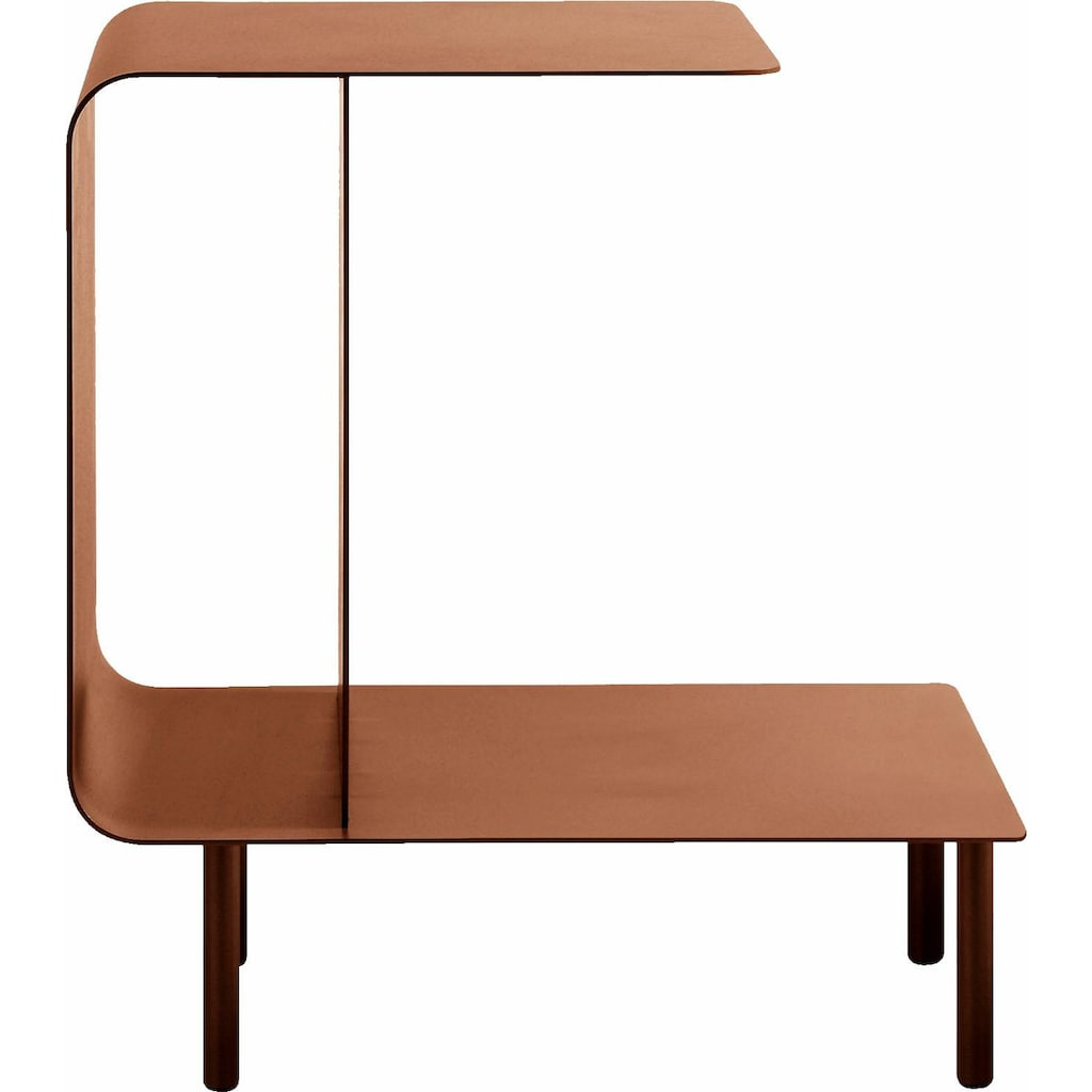 hülsta Beistelltisch »MULTI -VARIS 03«, aus Metall, Höhe 52 cm