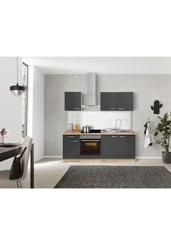 OPTIFIT Küchenzeile »Iver«, 210 cm breit, inkl. Elektrogeräte der Marke HANSEATIC,... kaufen