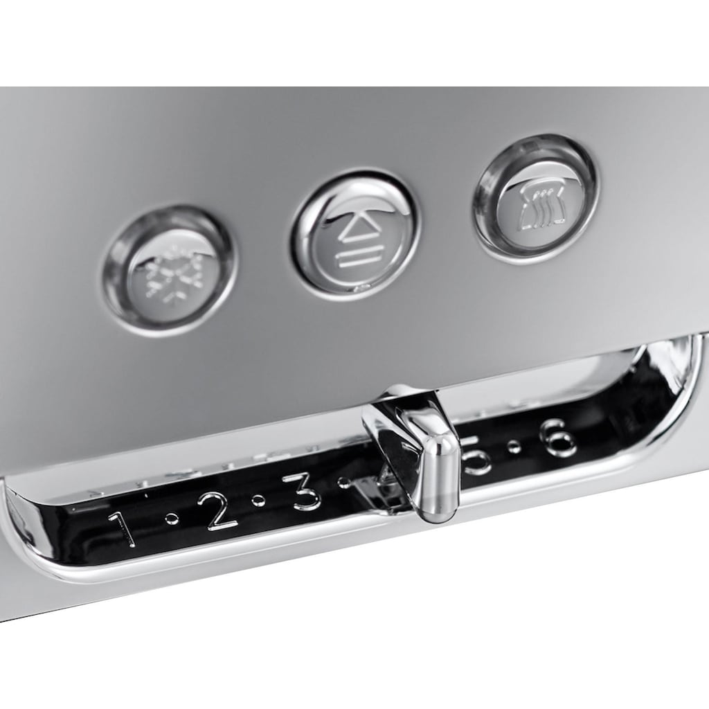 RUSSELL HOBBS Toaster »Luna Copper Accents 24310-56«, 1 langer Schlitz, für 2 Scheiben, 1420 W