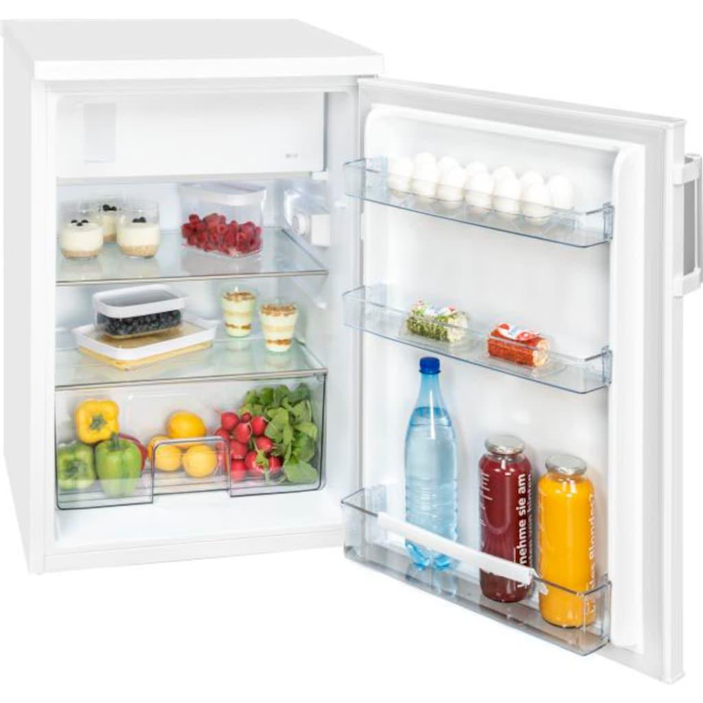 exquisit Kühlschrank »KS 16-1 A++«, KS 16-1 A++, 84,5 cm hoch, 56 cm breit