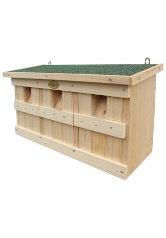 Habau Vogelhaus »Spatzenkasten«, BxTxH: 45,5x17x26,5 cm kaufen