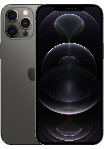 """Apple Smartphone »iPhone 12 Pro Max - 512GB«, (17 cm/6,7 """" 512 GB Speicherplatz, 12 MP Kamera), ohne Strom Adapter und Kopfhörer, kompatibel mit AirPods, AirPods Pro, Earpods Kopfhörer kaufen"""