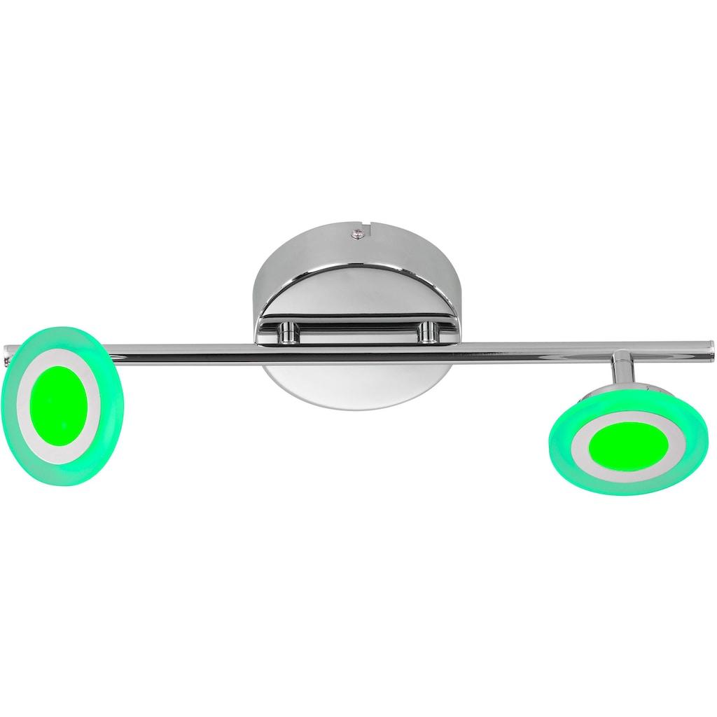WOFI LED Deckenleuchte »GEMMA«, LED-Board, Warmweiß, LED Deckenlampe