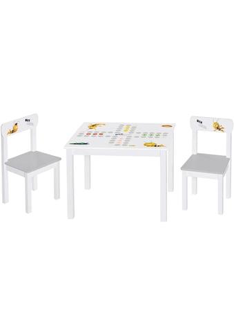 Roba® Kindersitzgruppe »Biene Maja« (3 - tlg) kaufen