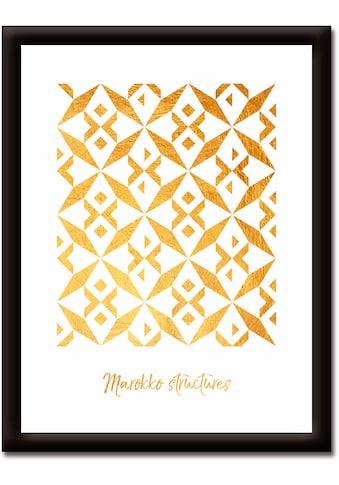 Artland Wandbild »Marokko Strukturen« kaufen