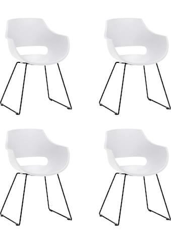 MCA furniture Schalenstuhl »Rockville«, 4er-Set, Stuhl belastbar bis 120 Kg kaufen