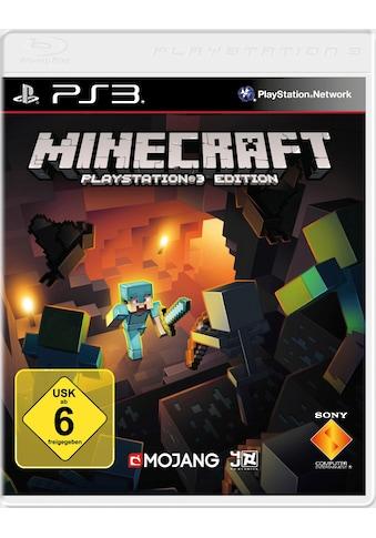 Sony Spiel »Minecraft«, PlayStation 3, Software Pyramide kaufen