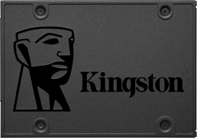 Kingston »A400« SSD-Festplatte 2, 5 ´´ (SATA, 500 MB/s Lesegeschwindigkeit)