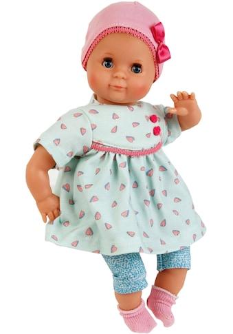 Schildkröt Manufaktur Babypuppe »Mein erstes Schlummerle, mint/türkis«, Made in Germany kaufen