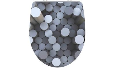 Schütte WC-Sitz »Round Dips«, mit Absenkautomatik kaufen