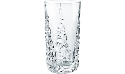 Nachtmann Longdrinkglas »Sculpture«, (Set, 6 tlg., 6x Longdrinkglas), 420 ml, 6-teilig kaufen