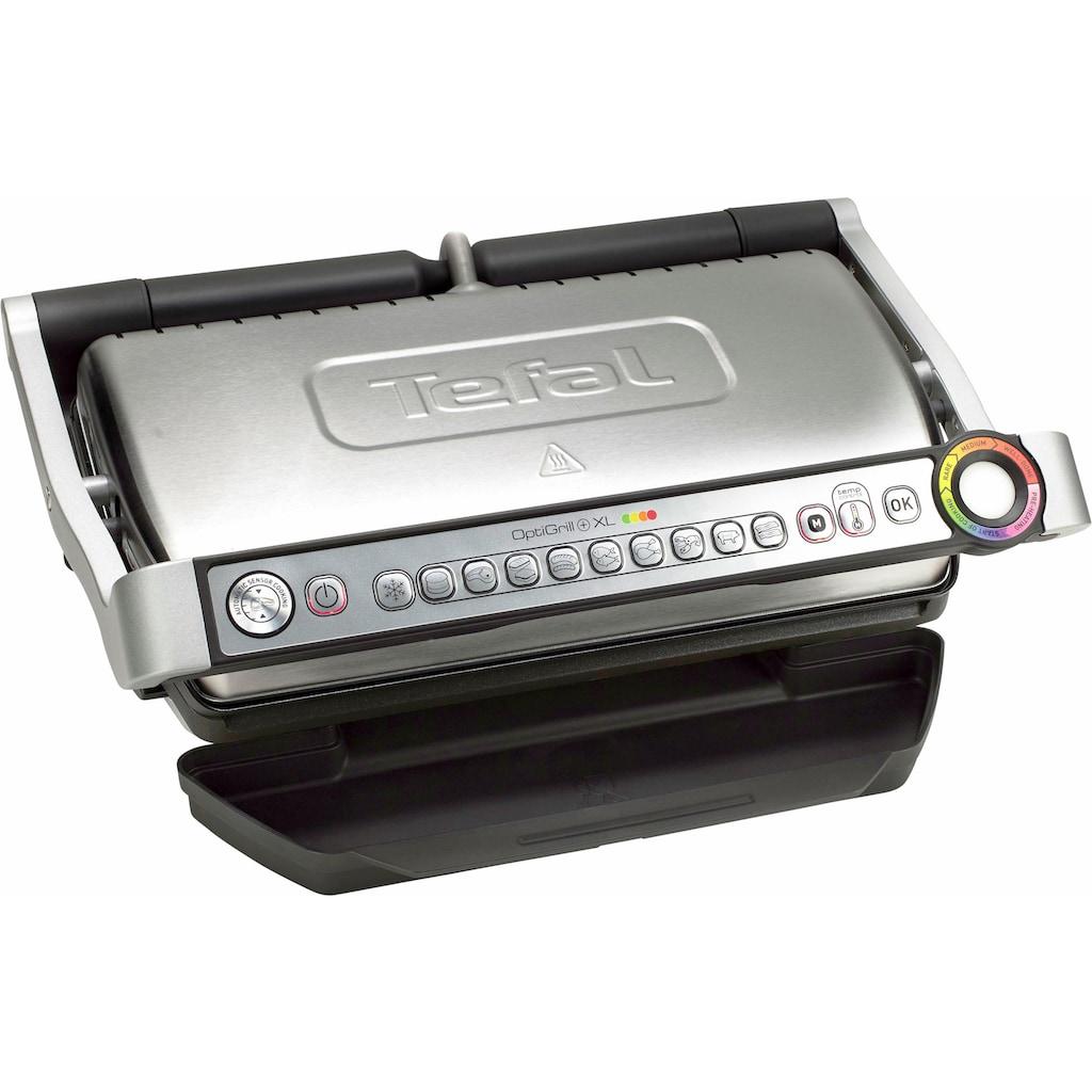 Tefal Kontaktgrill »GC722D OptiGrill+ XL«, 2000 W, 33% mehr Grillfläche