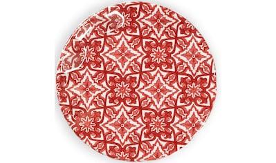 Q Squared NYC Kuchenteller »Talavera Collection«, (Set, 4 St.), Ø 14 cm, Melamin kaufen
