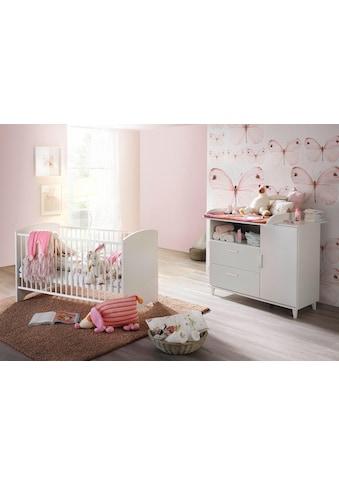 rauch BLUE Babymöbel-Set »Nizza«, (Spar-Set, 2 tlg.), Bett + Wickelkommode kaufen