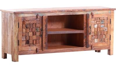Gutmann Factory Lowboard »Puzzle«, aus recyceltem Altholz kaufen