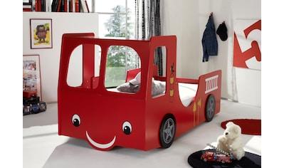Autobett, für kleine Feuerwehrmänner kaufen
