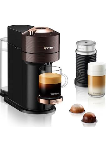 Nespresso Kapselmaschine »ENV 120.BWAE Vertuo Next Premium«, inkl. Aeroccino Milchaufschäumer, braun kaufen
