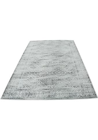 Home affaire Teppich »Kamala«, rechteckig, 8 mm Höhe, Vintage-Optik, Wohnzimmer kaufen