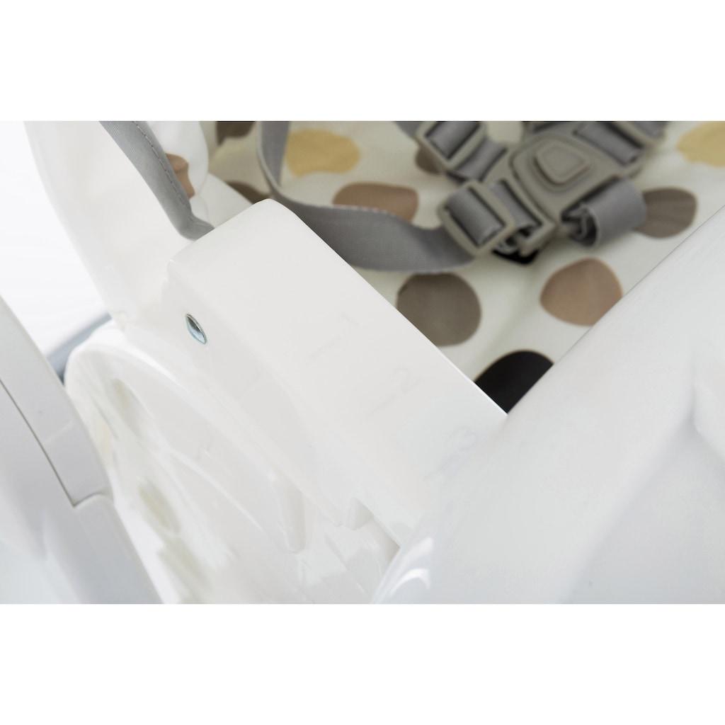 Fillikid Hochstuhl »Aron, Tupfen beige«