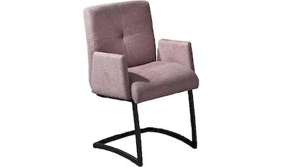 exxpo - sofa fashion Freischwinger »Affogato«, mit Armlehne kaufen