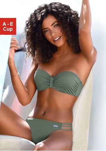 Bench. Bügel-Bandeau-Bikini-Top »Perfect«, im Uni-Style kaufen