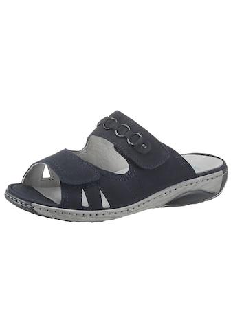 Waldläufer Pantolette »GERDA«, in komfortabler Schuhweite G (=weit) kaufen