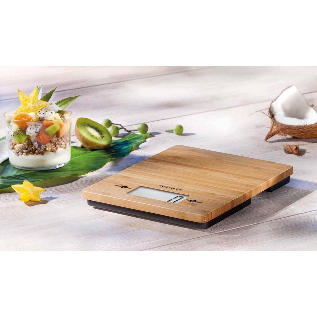 Soehnle Küchenwaage »Bamboo«, (1 tlg.)