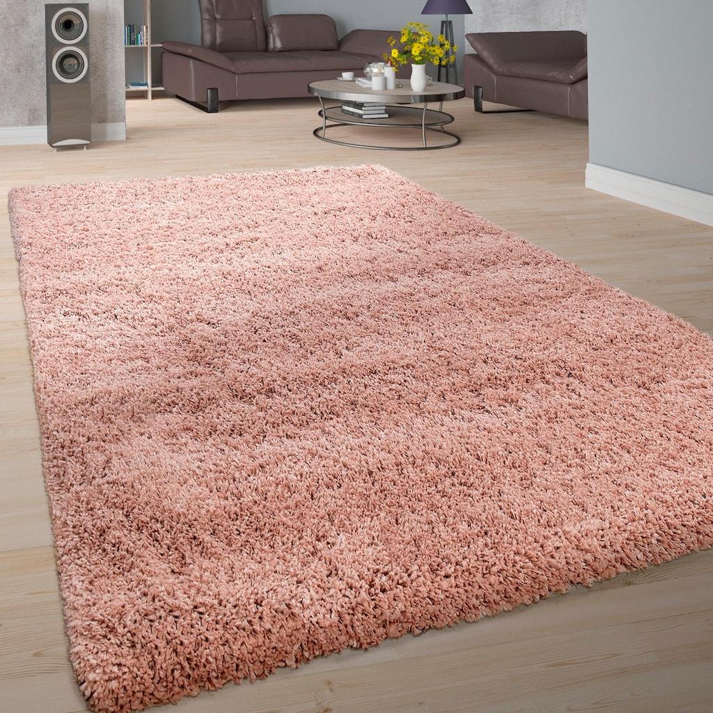 Hochflor-Teppich, »Next 570«, Paco Home, rechteckig, Höhe 60 mm, maschinell gewebt