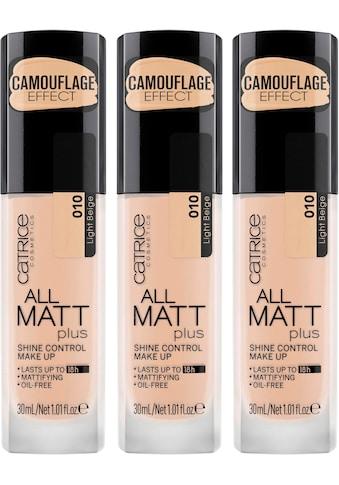 Catrice Make-up »All Matt Plus Shine Control«, (3er-Pack) kaufen