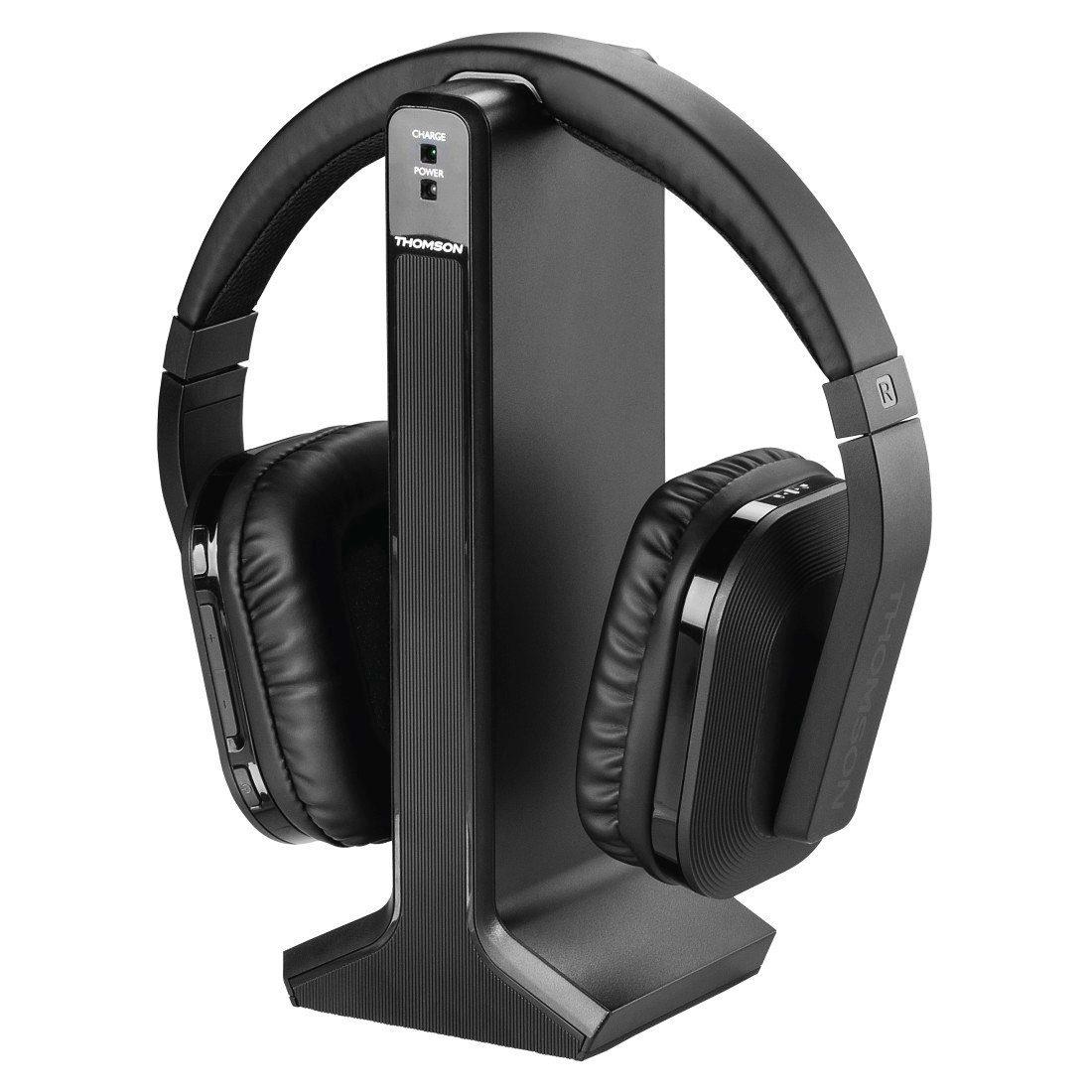 Thomson Funkkopfhörer, kabelloser TV, HiFi Over-Ear Kopfhörer »Digitaler Eingang, 8h Akku«