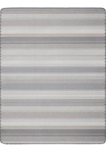 BIEDERLACK Wohndecke »Lines«, klassische Streifen kaufen