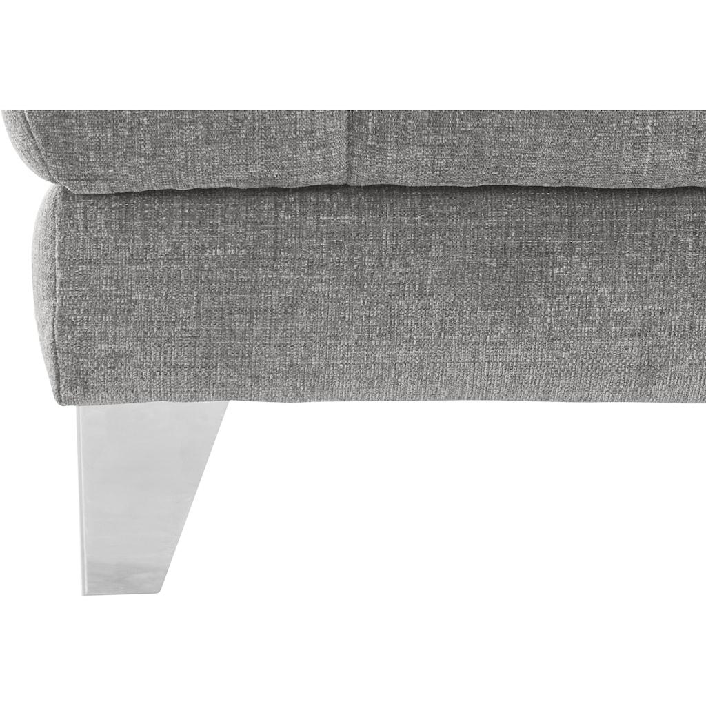 Places of Style Polsterhocker »Bardi Luxus«, belastbar bis zu 14okg, wahlweise mit Stauraum und Bezug Aqua Clean - leicht mit Wasser zu reinigen