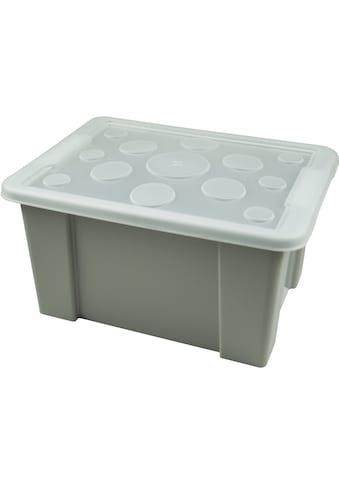 Gies Aufbewahrungsbox »Unibox«, (Set, 1 St.), nestbar, stapelbar, 15 Liter kaufen