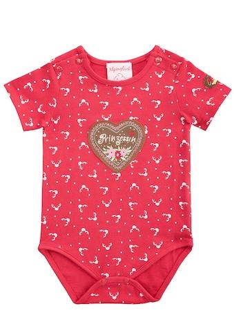 BONDI Trachtenbody Baby mit süßem Print kaufen