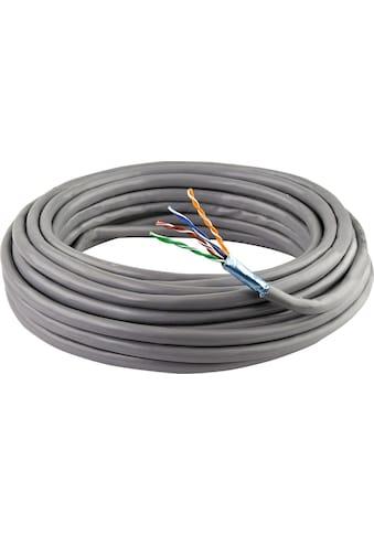 SCHWAIGER CAT5e Installationskabel, Netzwerkkabel, Ethernet LAN Kabel »Patchkabel ohne... kaufen