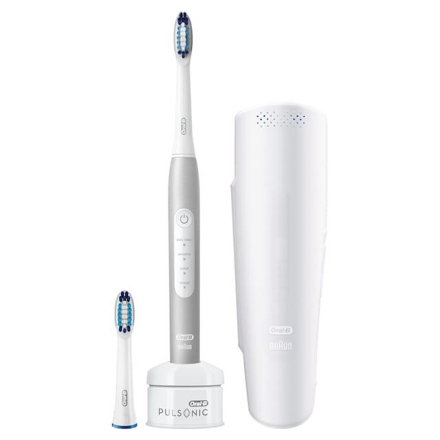 Oral B Schallzahnbürste Pulsonic Slim Luxe 4200, Aufsteckbürsten: 2 Stk.