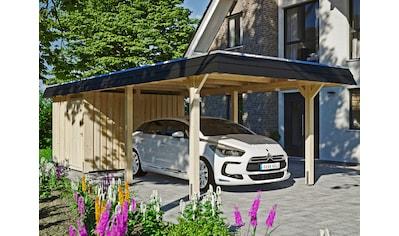 Skanholz Einzelcarport »Wendland«, Leimholz-Nordisches Fichtenholz, 291 cm, natur kaufen