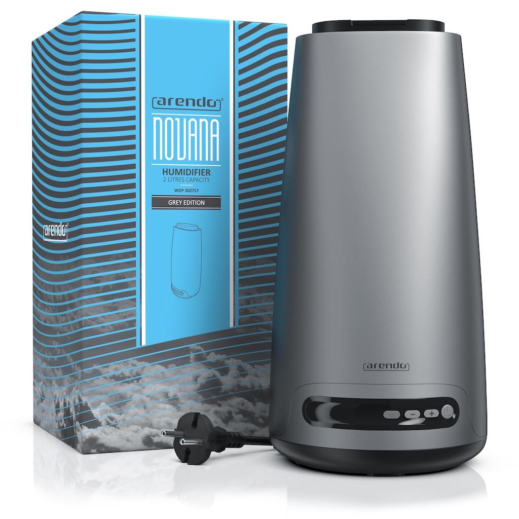 Arendo Design Luftbefeuchter mit Aroma-Reservoir & 2L Wasserbehälter