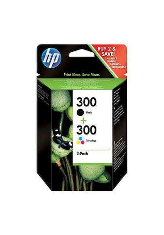 HP »hp 300 Original Kombi - Pack Schwarz, Cyan, Magenta, Gelb  -  CN637EE  - « Tintenpatrone kaufen