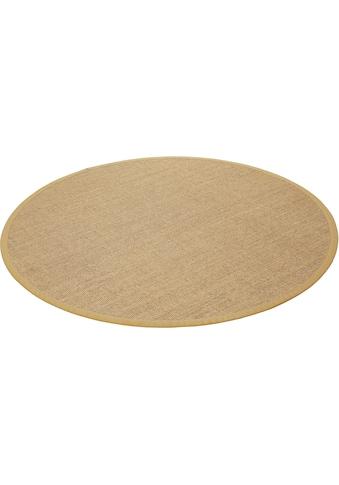 Wecon home Basics Sisalteppich »Ansgar«, rund, 6 mm Höhe kaufen