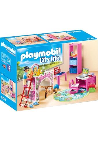 "Playmobil® Konstruktions - Spielset ""Fröhliches Kinderzimmer (9270), City Life"", Kunststoff kaufen"